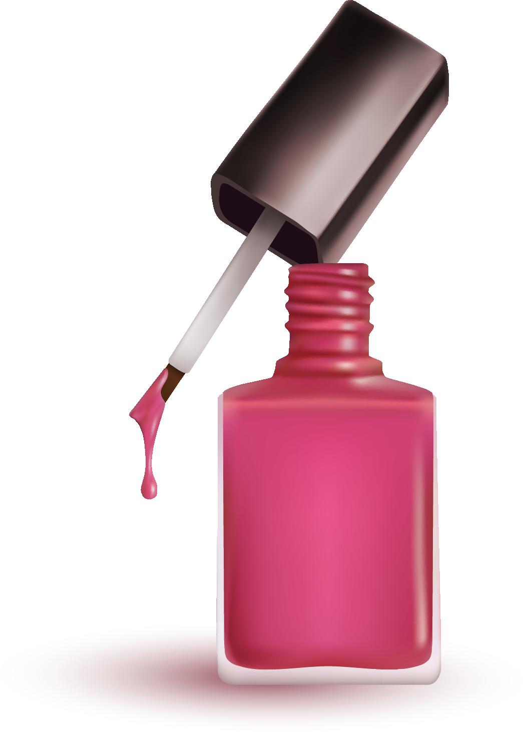 Polish cosmetics art clip. Nails clipart old nail