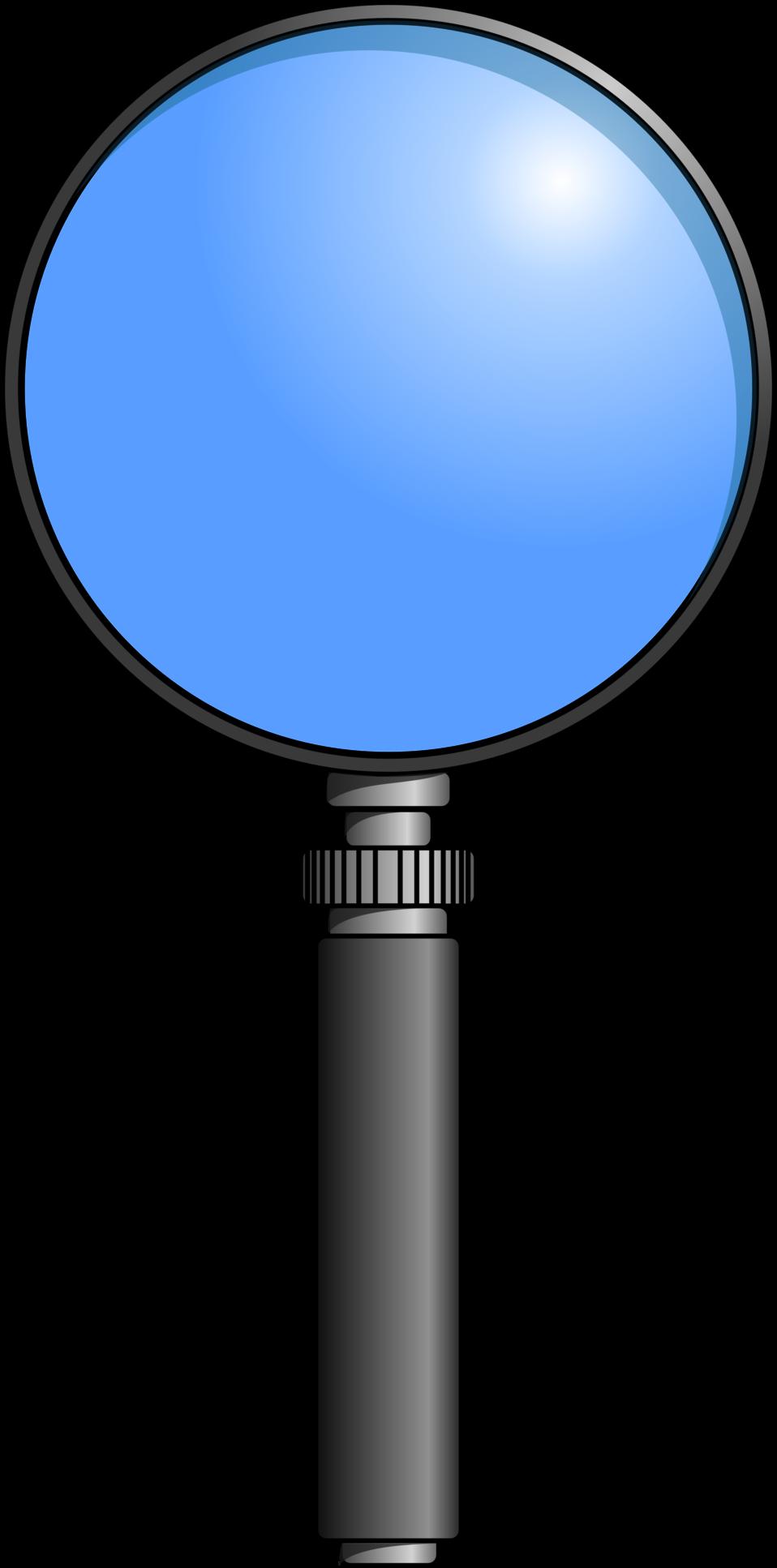 Public domain clip art. Person clipart magnifying glass