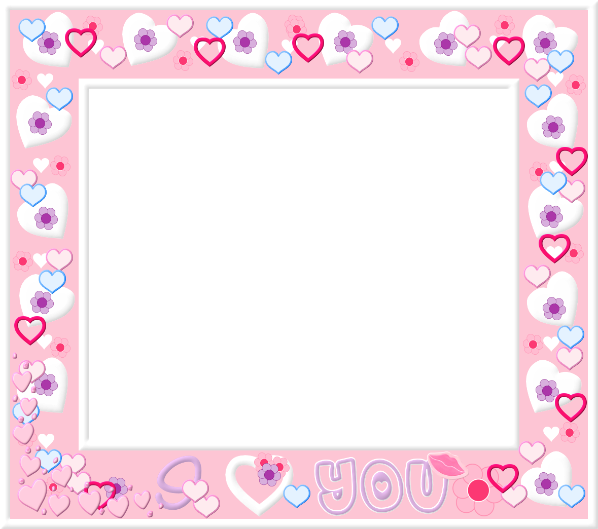 Border png tumblr. Free pink and white