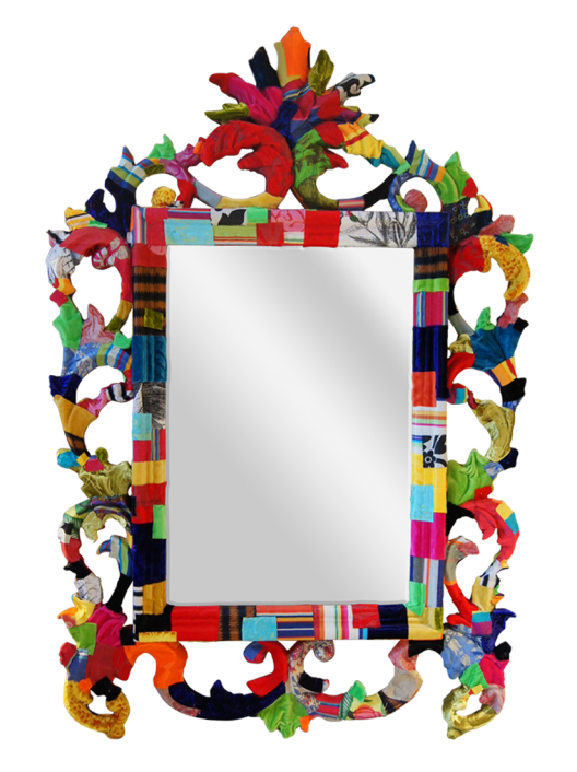 Mirror clipart square mirror. Fabric covered no tutorial