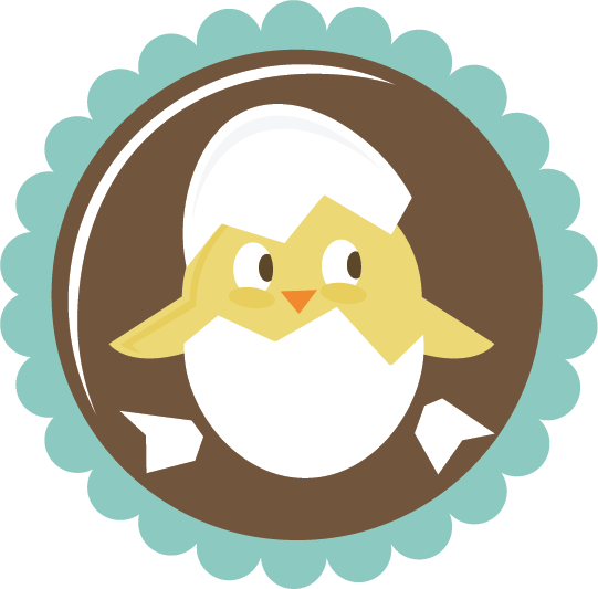 Chick in egg svg. Making png files