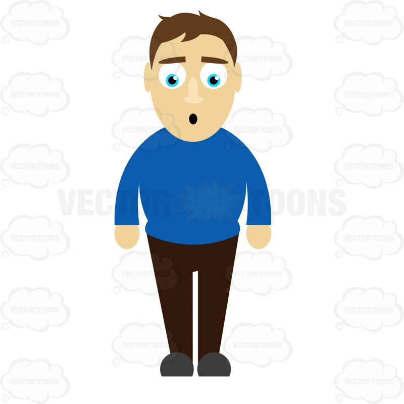 Standing free download best. Male clipart 1 person