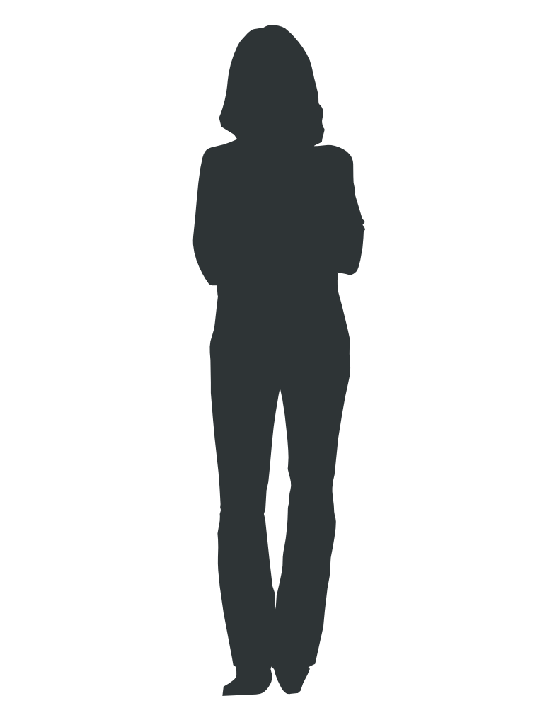 Professional clipart one man. Silhouette outline at getdrawings