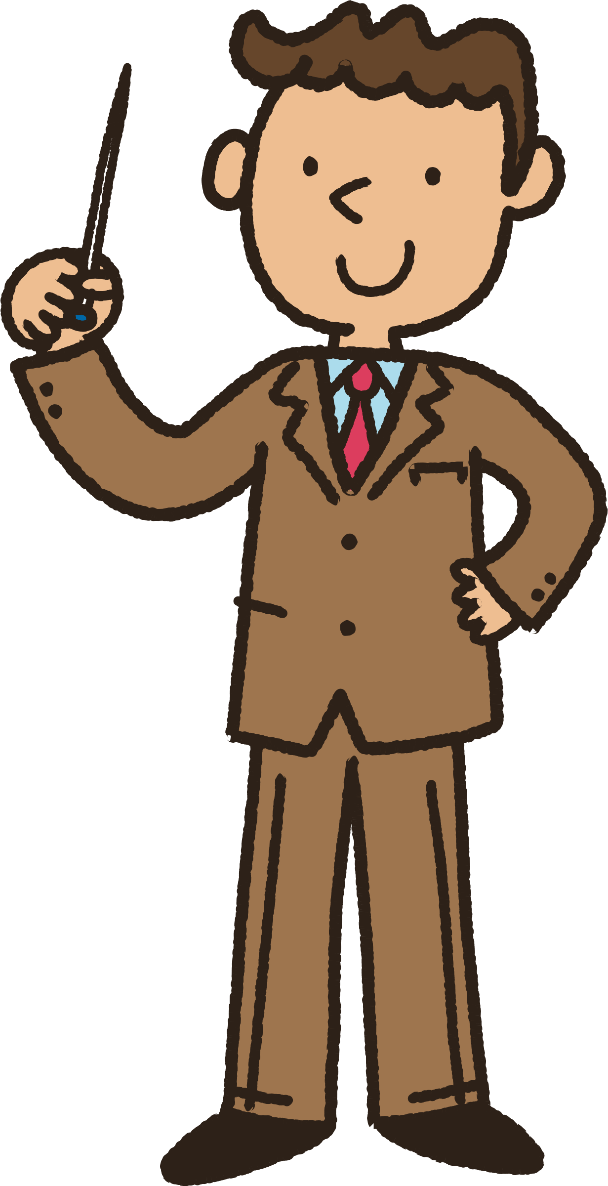Male clipart lecturer. Instructor big image png