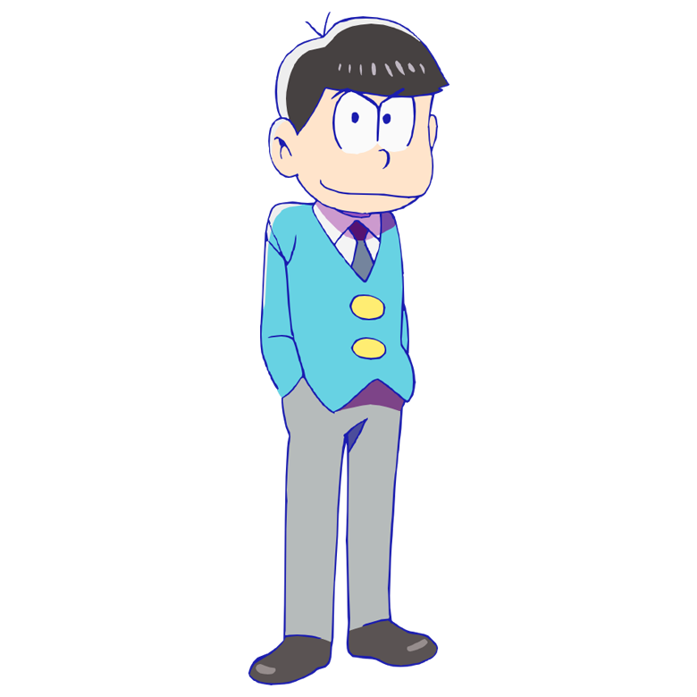 Karamatsu the nd oldest. Marbles clipart heavy object