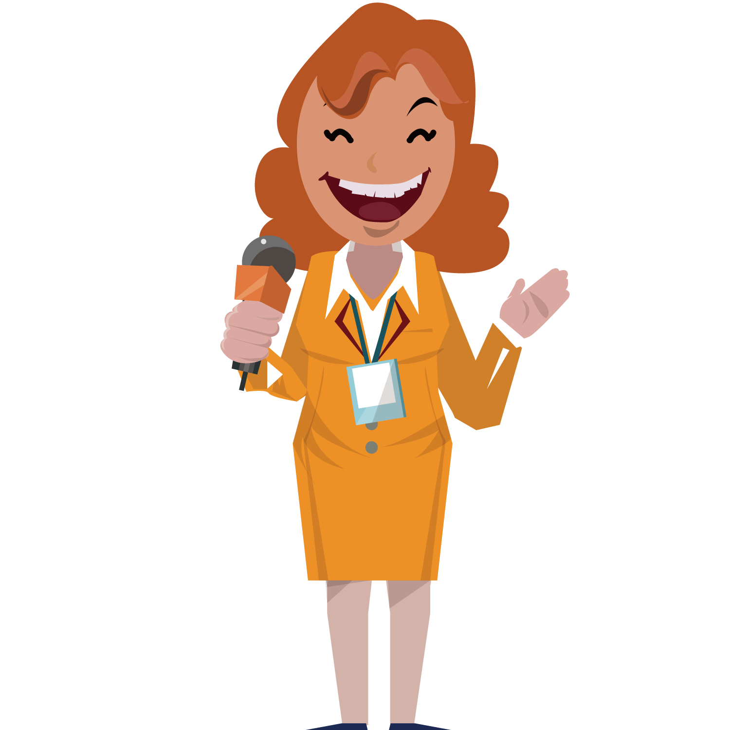 Microphone clipart reporter microphone. Journalist journalism news presenter
