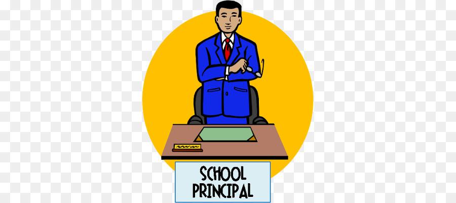 Line art education illustration. Male clipart school principal