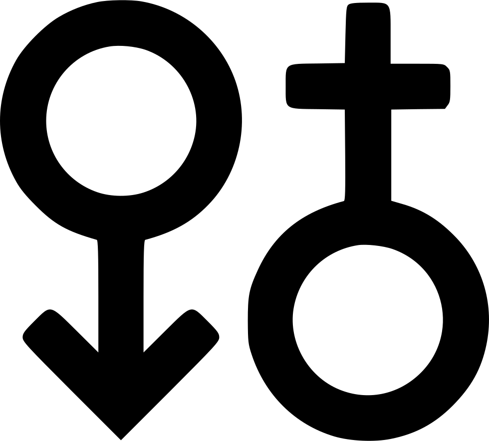 Male clipart svg. Female sign png icon