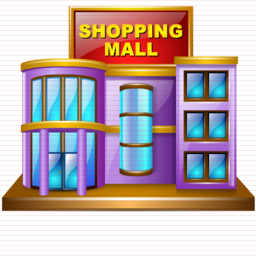 Mall clipart. Shopping station