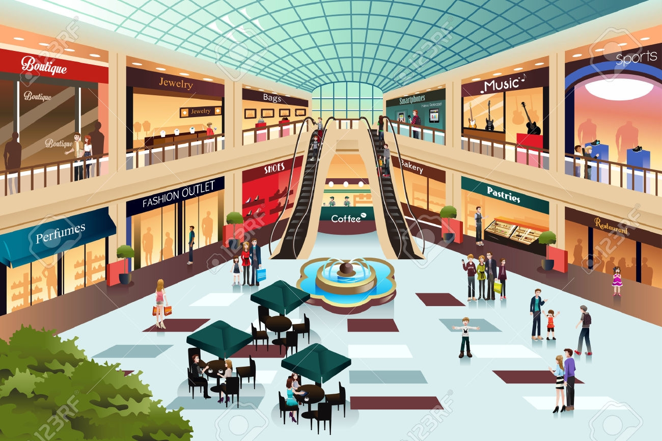 Awesome gallery digital collection. Mall clipart