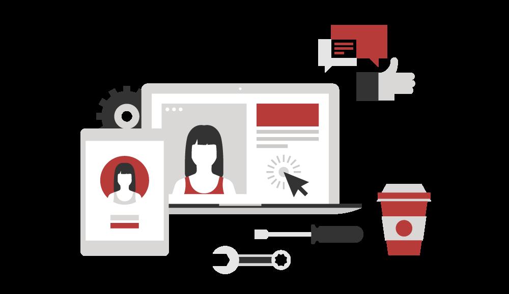 Social advertising springfield mo. Marketing clipart media icon