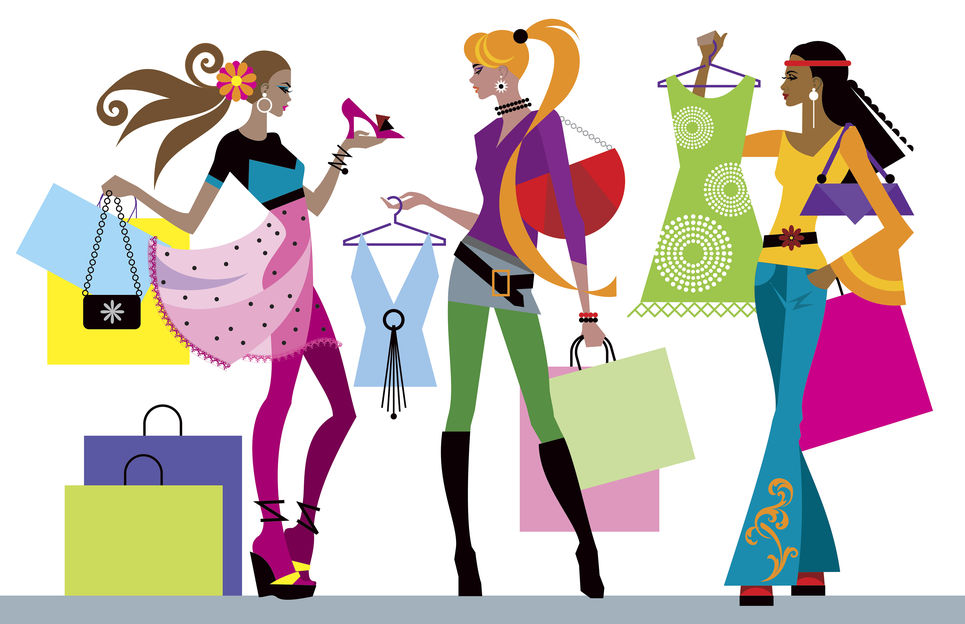 year shopping service. Mall clipart personal shopper