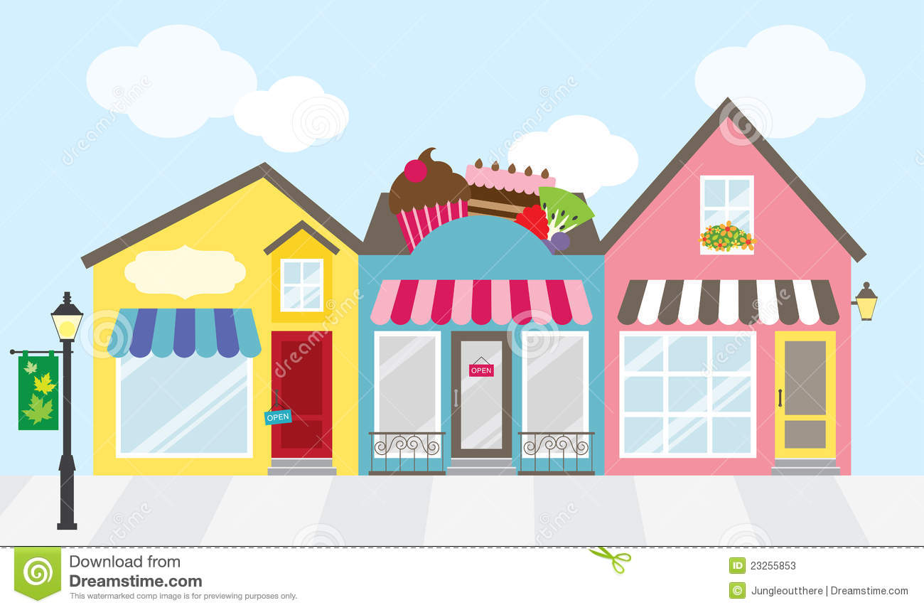 Building station . Mall clipart shopping plaza