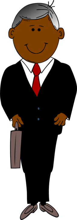 Man clipart. Clip art black and