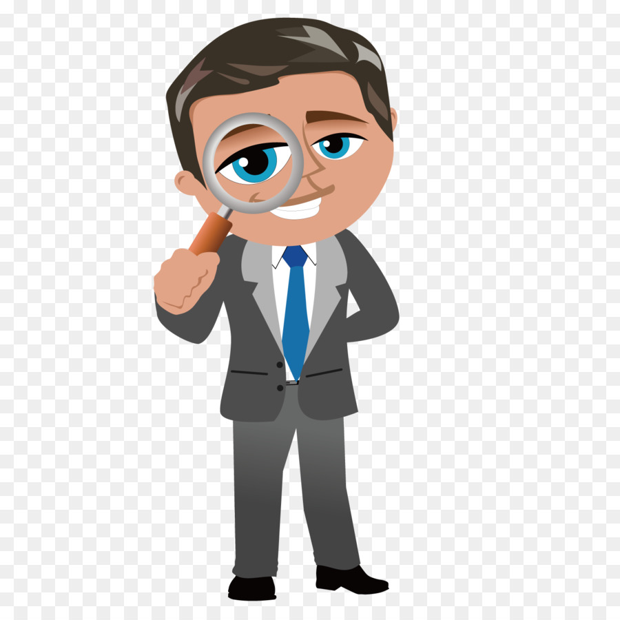 Cartoon businessperson clip art. Manager clipart