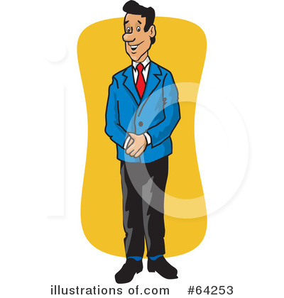 Illustration by david rey. Manager clipart