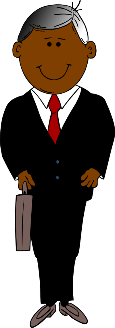 Marketing . Manager clipart