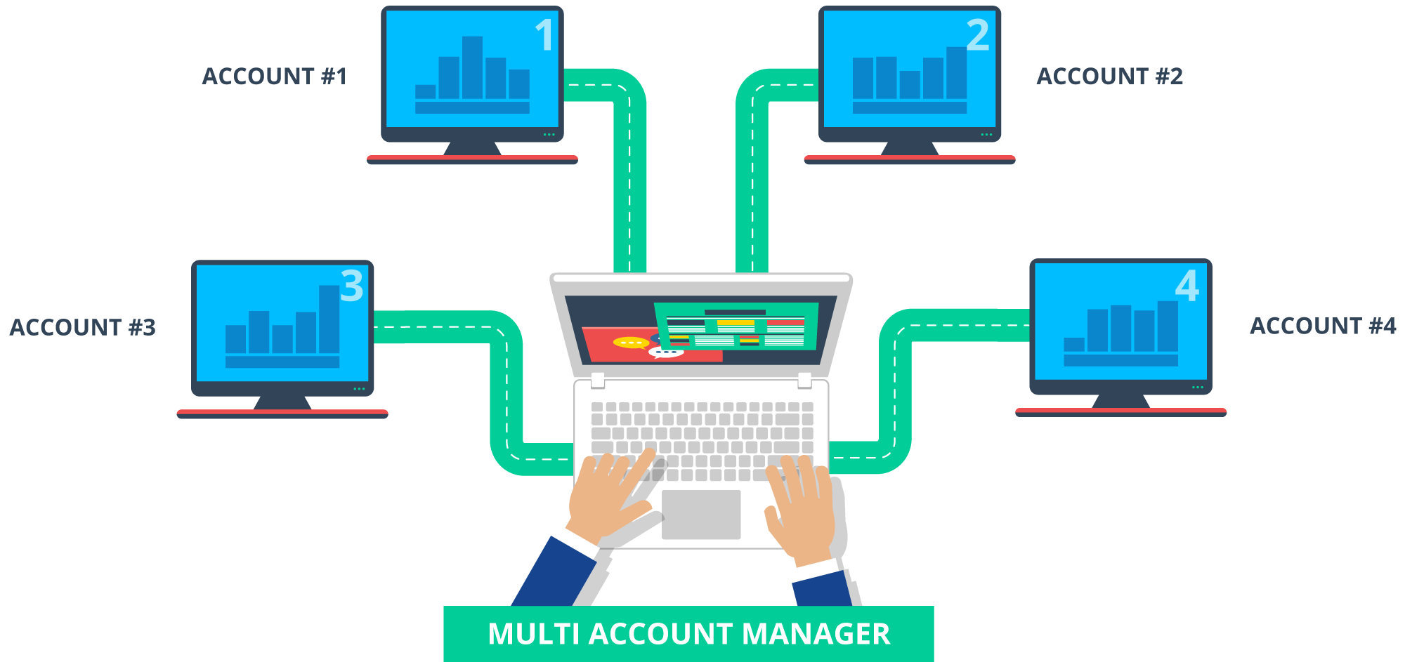manager clipart accounting manager #126431839
