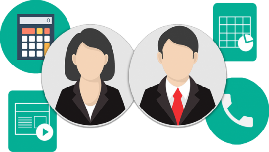 Receptionist clipart business admin. Management images gallery for