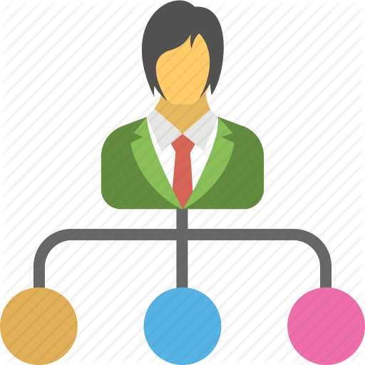 Manager clipart business management administration.  human resources by