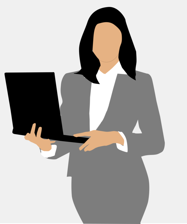 Manager clipart business person. Standing human behavior silhouette