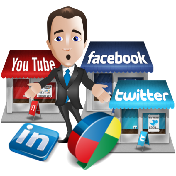 Social media . Manager clipart busy manager