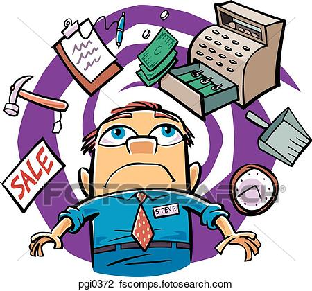 Manager clipart busy manager. Free download best on