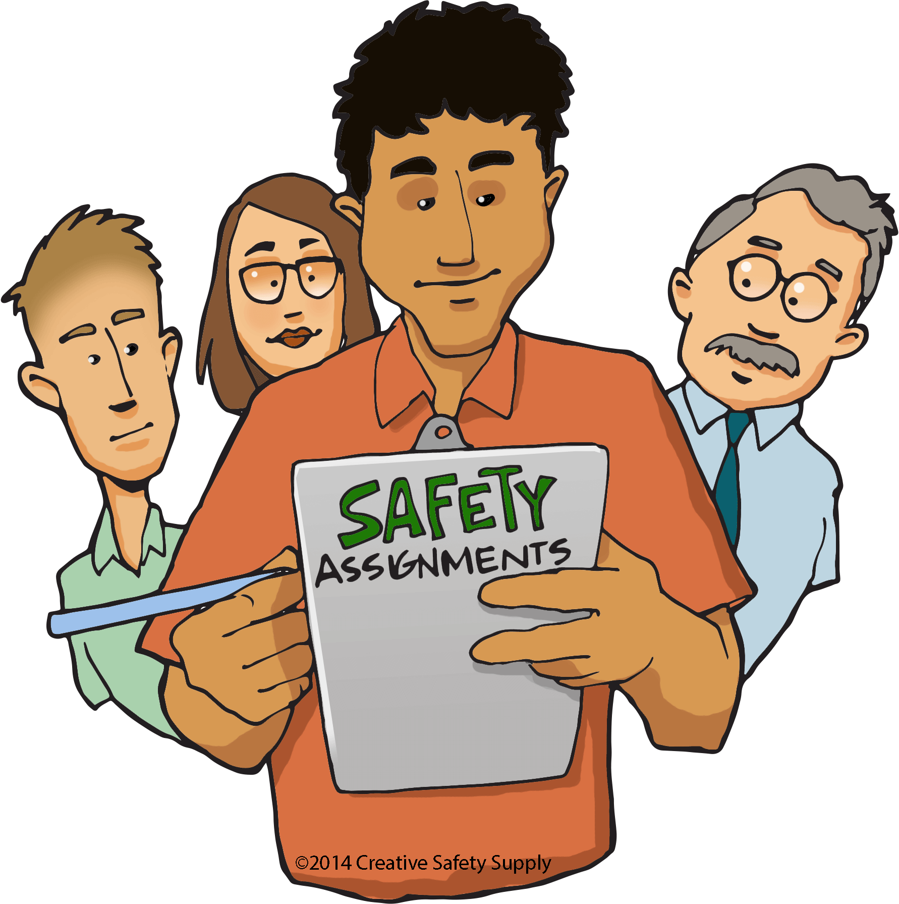 Safety supervisors the most. Manager clipart construction supervisor