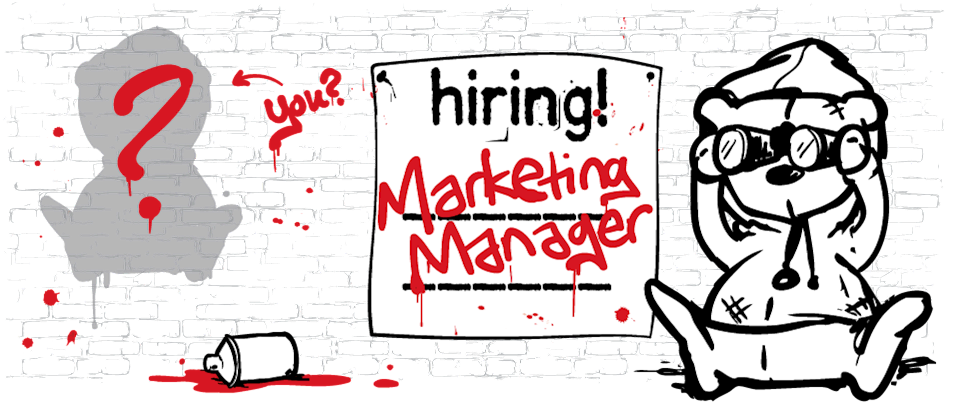 Marketing wanted tiny rebel. Manager clipart line manager