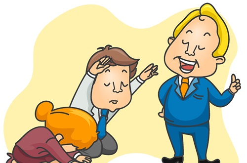 Manager clipart manager employee. How not to be