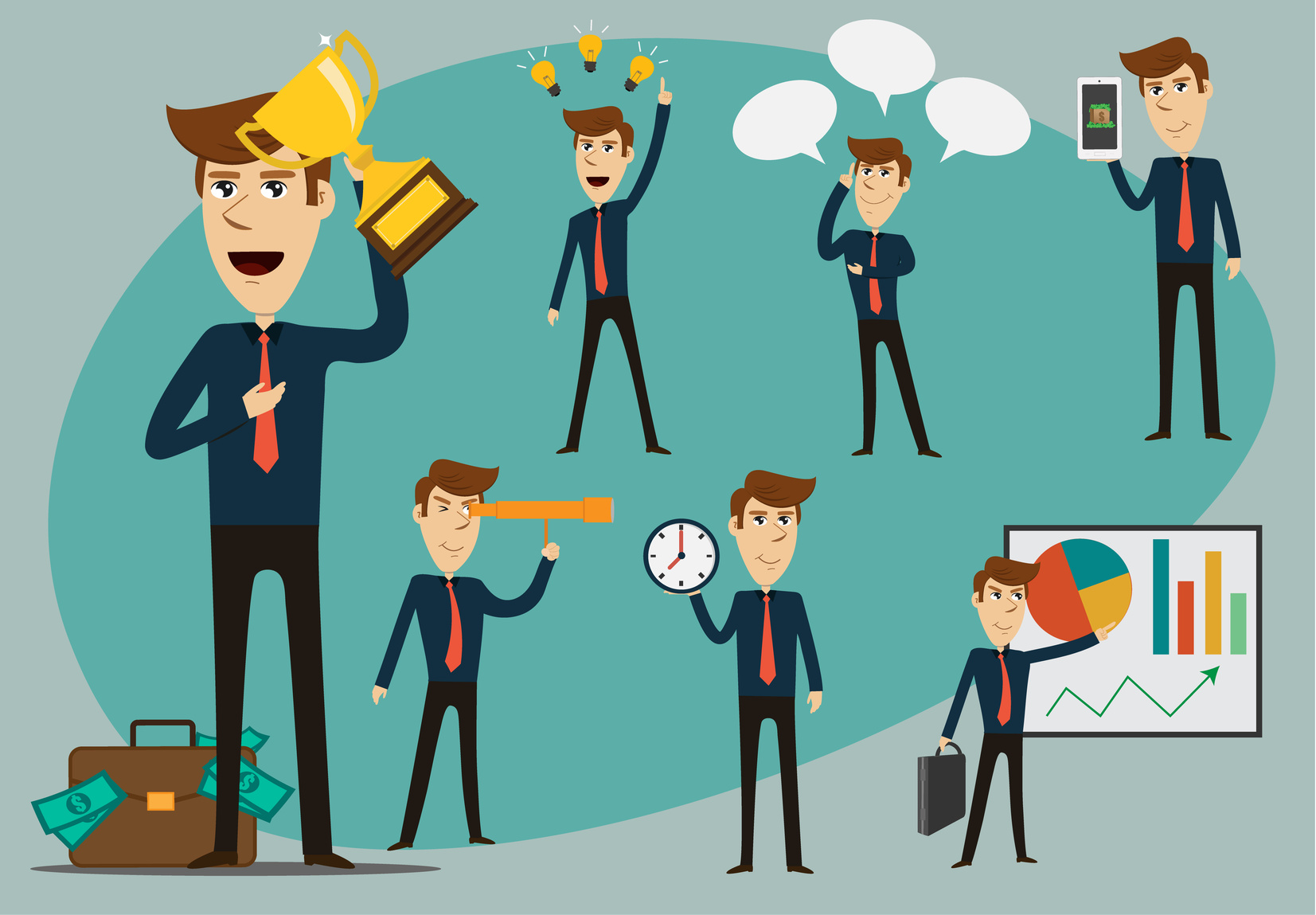 Why are successful managers. Manager clipart managerial role