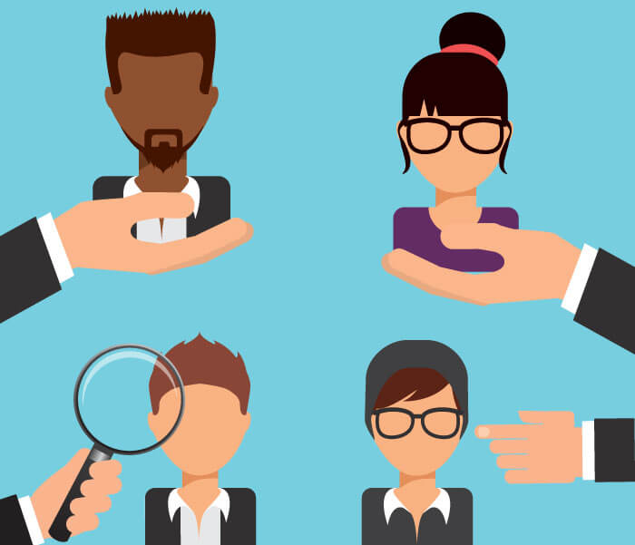 Hr roles in developing. Manager clipart managerial role