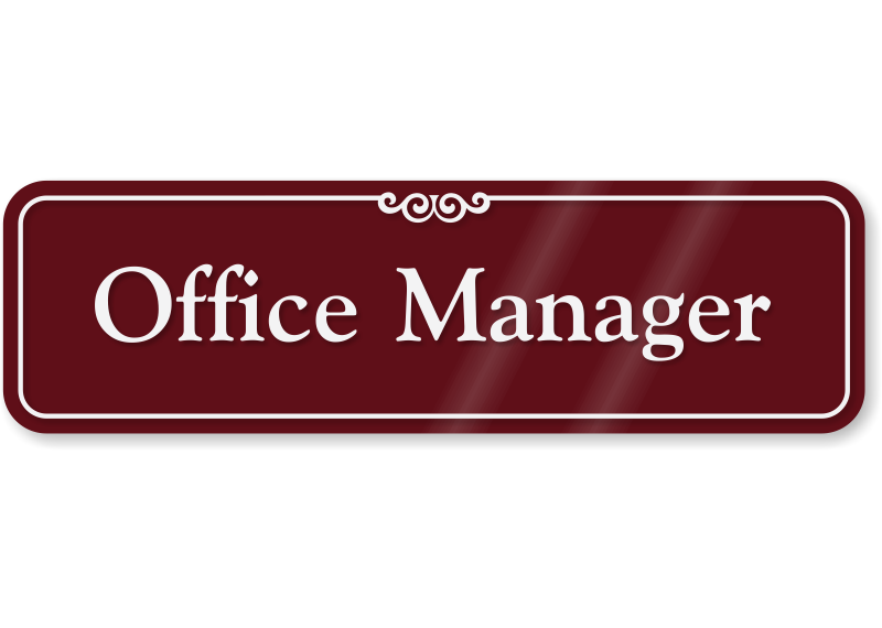 Everything about news and. Manager clipart office manager