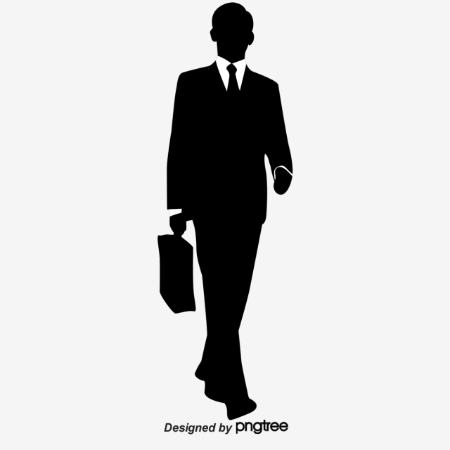 Manager clipart professional man. Business silhouette people