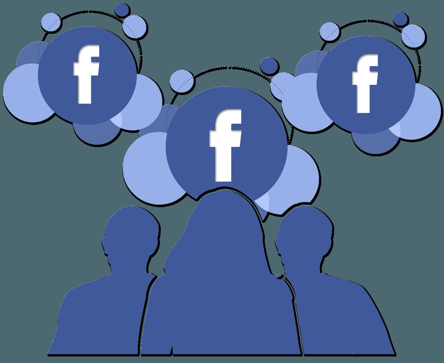 Facebook management marketing dog. Manager clipart publisher
