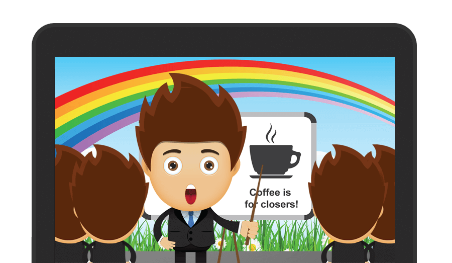 Small business mac crm. Manager clipart sale rep