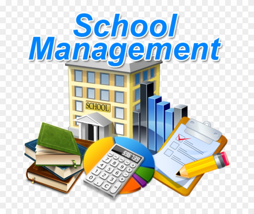 Office operation . Manager clipart school management