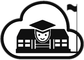 Cloud is a fully. Manager clipart school management