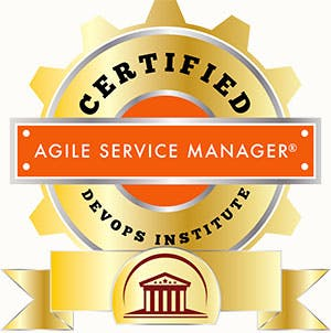 Certified agile devops institute. Manager clipart service manager