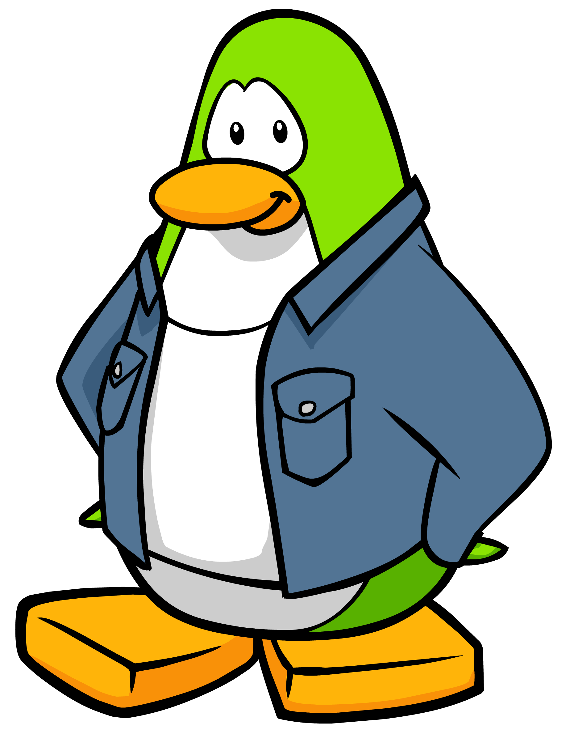 Manager clipart shop manager. Gift club penguin rewritten