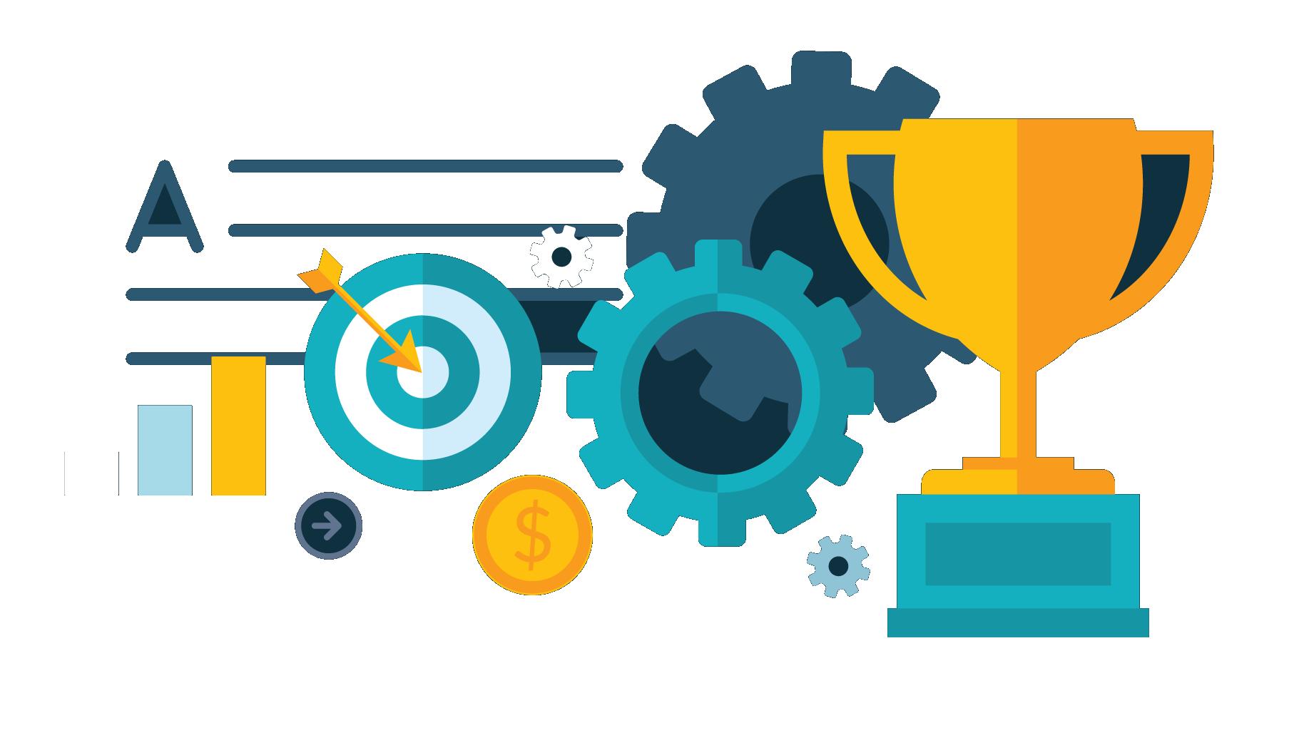 Manager clipart strategic management. Develop implement effective sales
