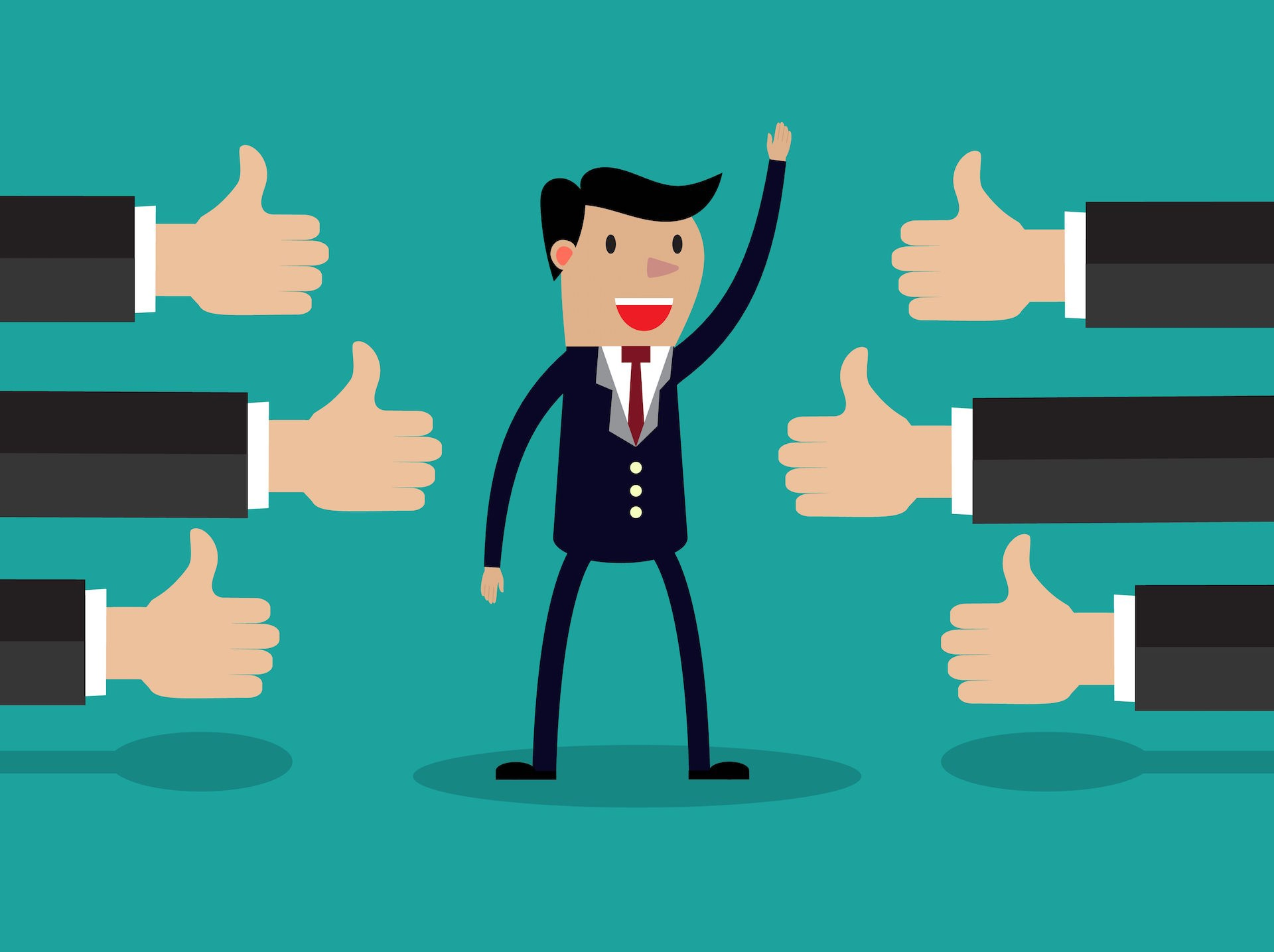 What makes a great. Manager clipart successful