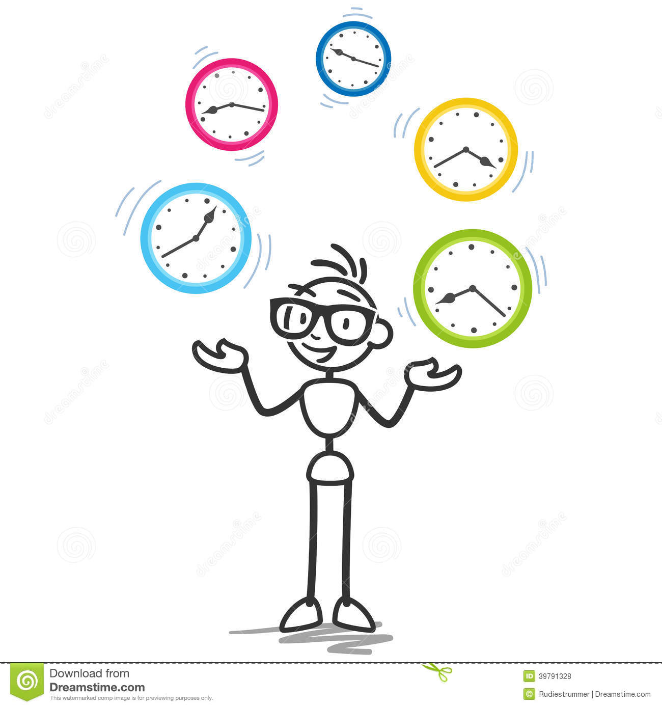 Stress clipart time management.  clipartlook