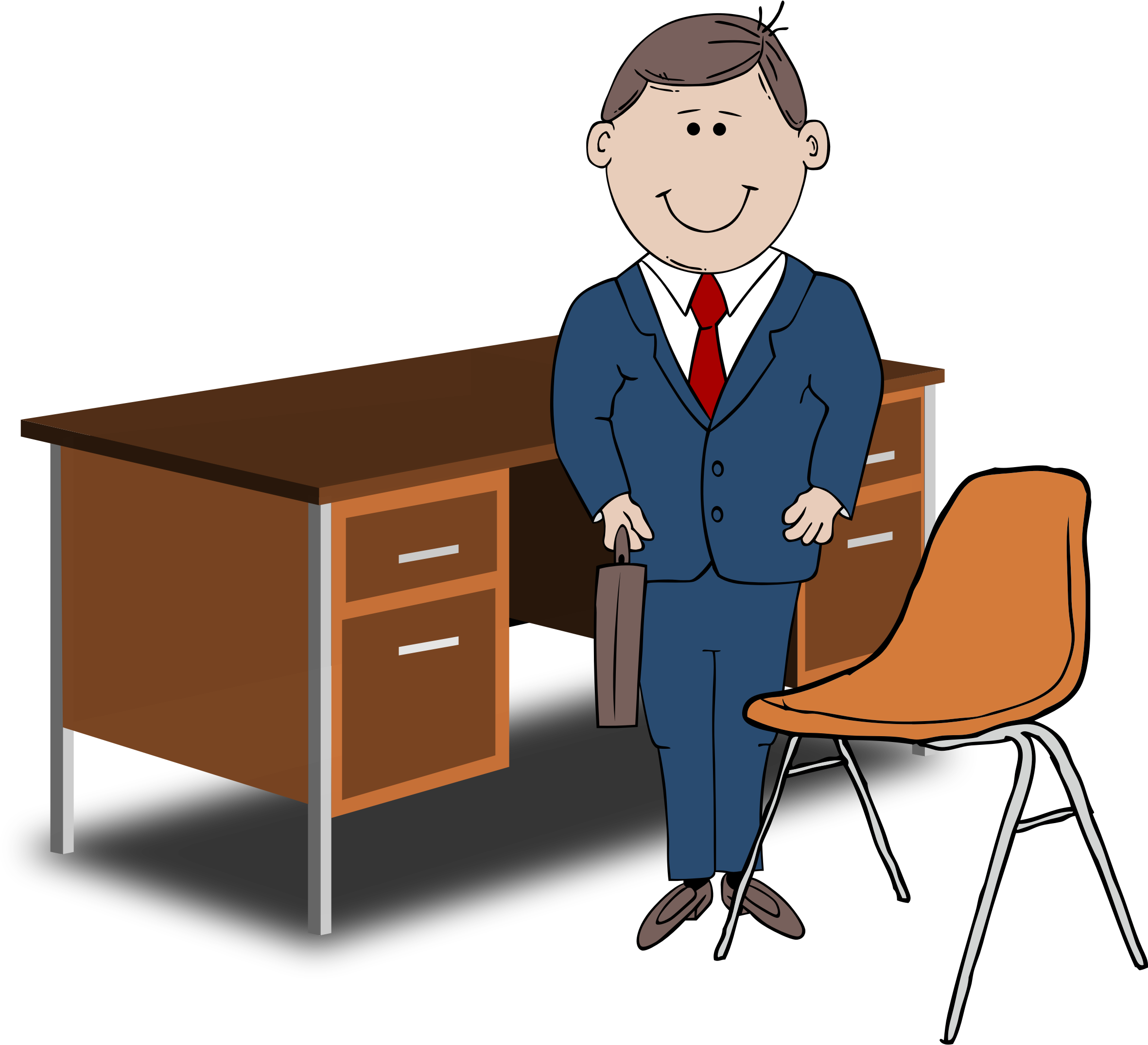 Manager clipart training manager. Five traits of an