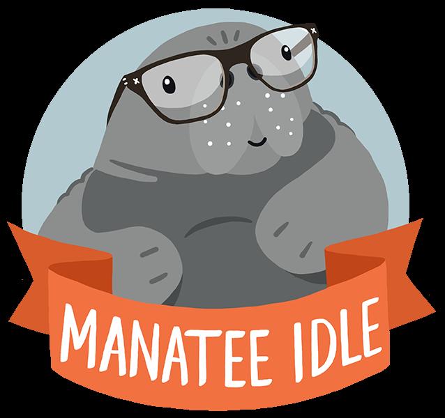 manatee clipart baby manatee