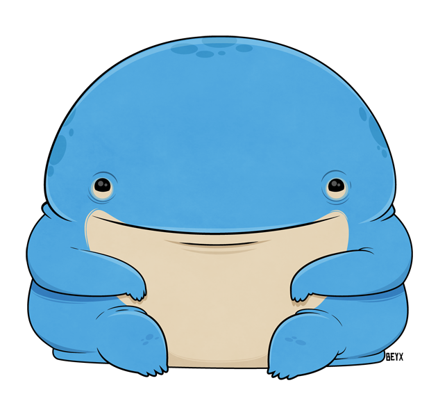 Quaggan by beyx on. Manatee clipart baby manatee