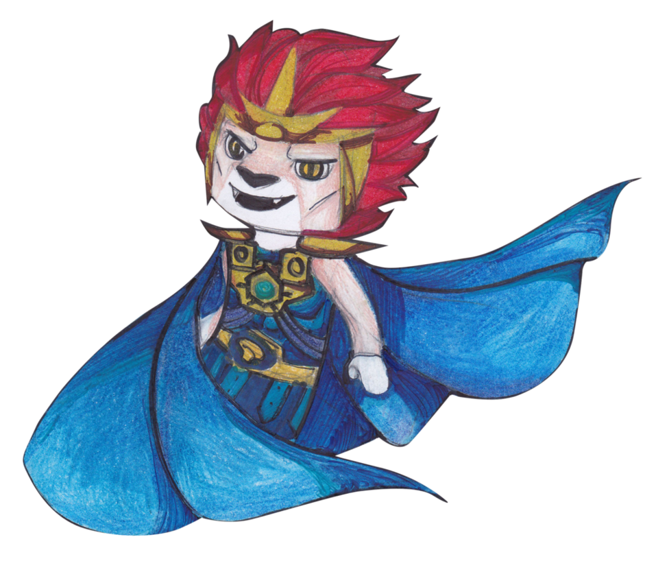 Lego chima prince laval. Manatee clipart drawn