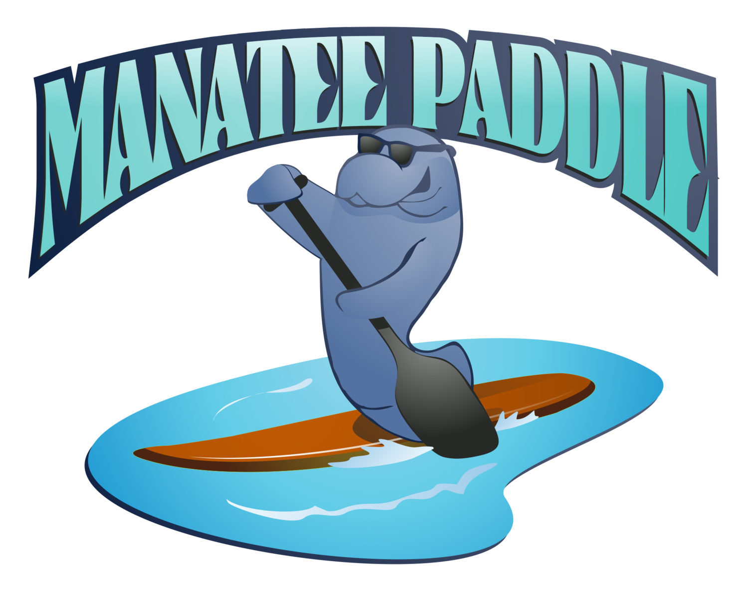 Sunglasses clipart striped. Crystal river paddleboard and