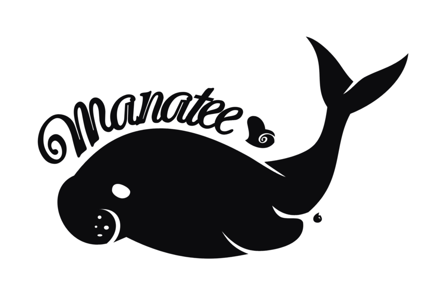 Manatee clipart dugong. By kna on deviantart