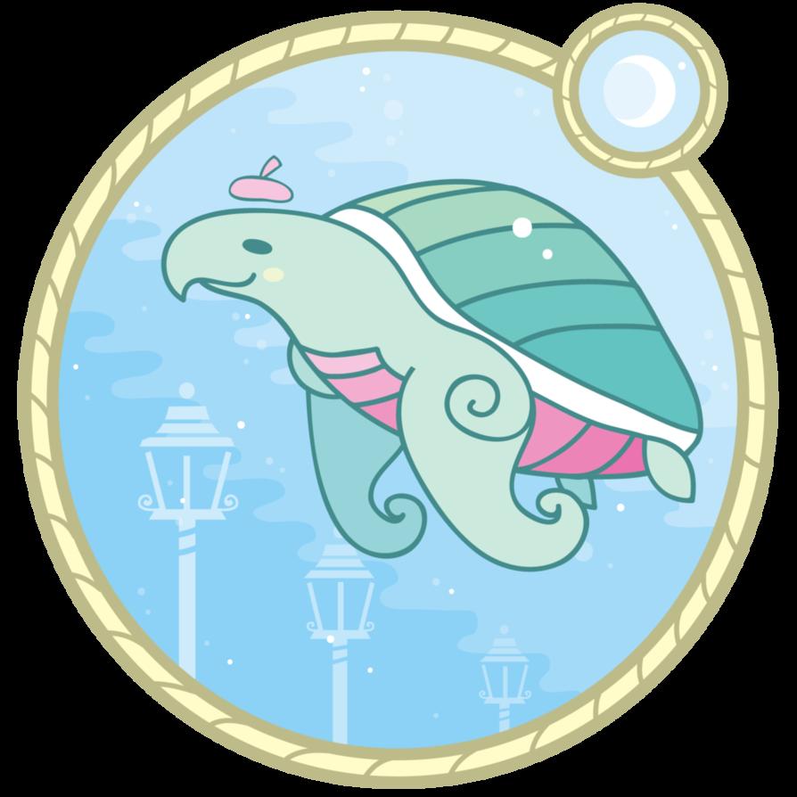 Sea cosmopoliturtle by on. Manatee clipart emoji